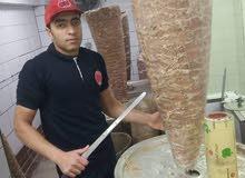 احمد معلم شاورما تجهز درجة الأول