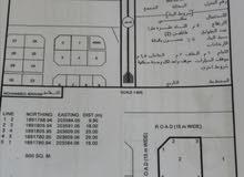 للبيع ارض سكنية ممتازة في صلالة صحنلوت الشمالي كونر القطعة 2