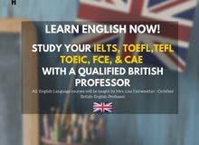 Learn English with a British Teacher (IELTS, TOEFL)