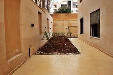شقة شبة أرضية للبيع في ضاحية الأمير راشد مساحة البناء 271م - المساحة الخارجية 230م
