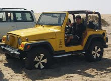 Yellow Jeep Wrangler 2005 for sale
