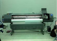 مكنة طباعة ديجيتال  1,80cm جديدة