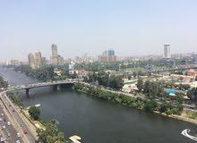 شقة لايجار على النيل الجيزة