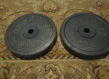 عدد 2 تارة حديد استاندر وزن 10 كجم