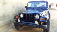 Blue Jeep Wrangler 2002 for sale