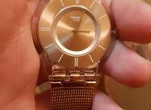 ساعة swatch ستاتية للبيع بسعر طري