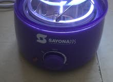 جهاز شمع Pro Wax صناعه الماني مع عبوه شمع وماسكات خشب هديه