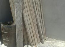 خشب مستعمل مرتك 3 و 4 متر   وطفش