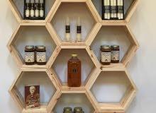 مطلوب مسوقين لمنتجات عسل ..حلويات..اعشاب..مكسرات..بالنسبة من جميع الدول العربية