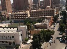 شقة للبيع بسليم الاول الرئيسي امام بوابه مستشفى الحلمية العسكري