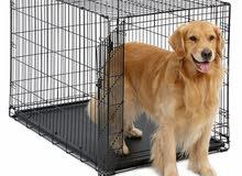 قفص كلاب حجم كبير Dog crate large Size