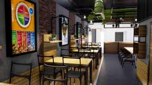 تجهيز مطاعم وكافيهات وفلل ومحلات تجاريه0573020357