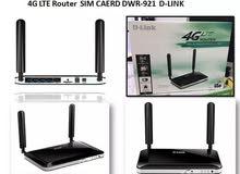 4G ROUTER WIFI SIM CARD راوتر 4G DLINK