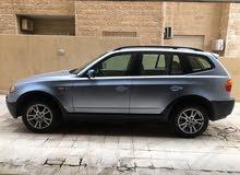 BMW X3 4x4 2006 Low mileage   مالك واحد اجنبي، من و بحالة الوكالة ماشية 72 الف كم فقط