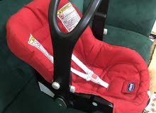 كرسي سياره للاطفال مع قاعده