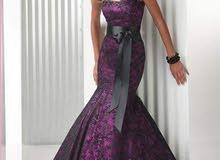 فستان سهرة فخم وراقي جدااا للبيع