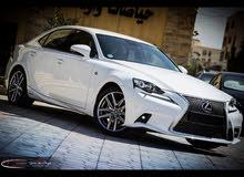 Lexus is300 F-sport  plus 2015 / بدفعه أولى 8500 دينار وقسط شهري 400 دينار