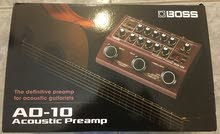BOSS AD-10 Guitar Acoustic Preamp