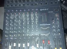 MAX CW-8088 STEREO POWERED MIXER