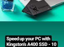 hard disk ssd kingston 480gb x10  جيجا