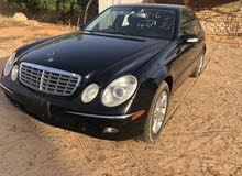 Used condition Mercedes Benz E 350 2006 with +200,000 km mileage