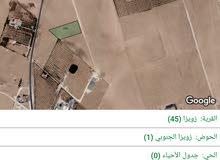 ارض 5 دونم  للبيع في جنوب عمان