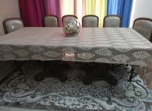 طاولة سفرة 8 كراسي