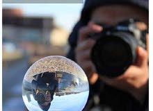 كرة كريستال من الزجاج