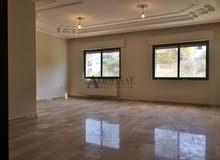 شقة للايجار طابق ثاني في خلدا , مساحة البناء 190 م