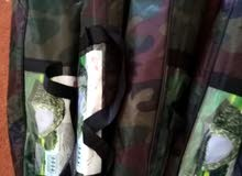 tente camping camouflage
