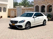 Gasoline Fuel/Power   Mercedes Benz E550 2014