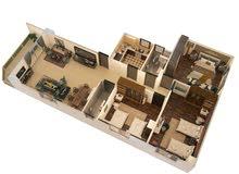 شقة 180م ناصية على شارعين بمدينة نصر