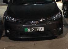 Toyota Corolla for rent in Amman