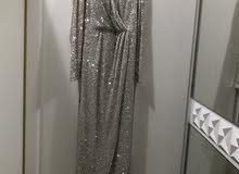 فستان سهرة سلفر للبيع 500 قابل للتفاوض