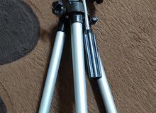 حامل كاميرا كانون يابانى الاصل استنالس ارتفاع 150 سم