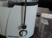 black decker juice still new