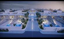 أرض 10 دونم بأجمل مناطق البحر الميت على شارع الخدمات مع اطلالة رائعة على البحر