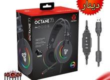 Headset gaming ماركة Fantech الاصلية ( محيطية ) موديل octane 7.1 تعمل على الـ US