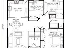 تقديرات مباني و حساب كميات قطع الجبال ورسم خرائط بالاتوكاد