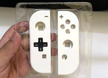 white joy con shell