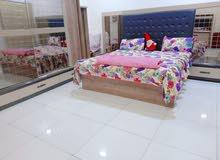 غرفة نوم تركية نضيفه متكونه من 9 قطع بمليون وربع سعر بي مجال