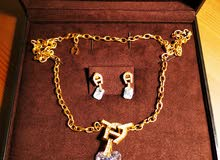 Brand New - Aigner Jewellery - Necklace with Earrings