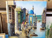 بيع لوحات تشكيلية كاليري ماهر يوسف للفنون التشكيلية