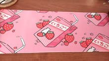 Strawberry Milk PC Gaming Mousepad Mouse Mat