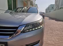 Honda Accord 2013 Silver ( Mid option ) GCC