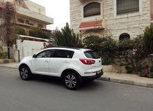 White Kia Sportage 2011 for sale