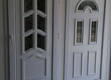 نوافذ وأبواب upvc  وأعمال الواجهات الزجاجية أسعار ممتازة