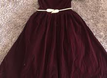 فستان مخمل انيق