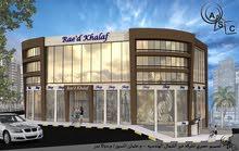 مكاتب جديدة قيد الانشاء للبيع في السابع مقابل الملكية