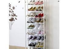 منظمة النعال و الأحذية مؤلفة من 10 أدوار ، شامل التوصيل للمنزل بدون تكلفة إضافية